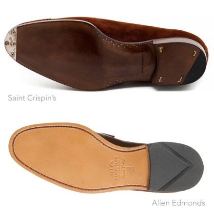 Closed channel vs open channel shoes.