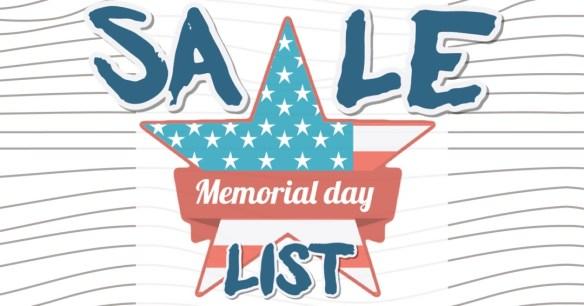 memorial day menswear sales
