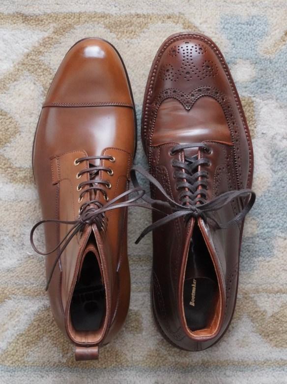 Carmina boots vs Alden boots