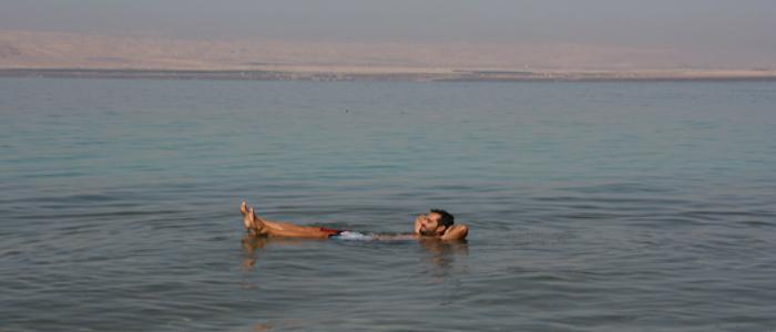 Jordan things to do - The dead sea.