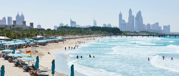 Free Things to Do in Dubai - Stroll at the Jumeirah Beach.