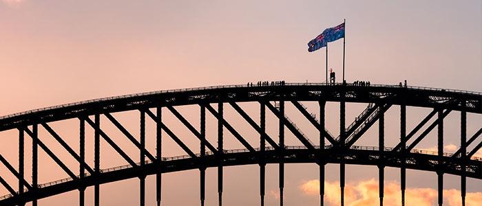Sydney Harbour Bridge Climb Adventure Holidays, Australia.