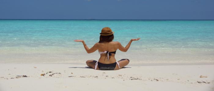visit Maldives for the white sands