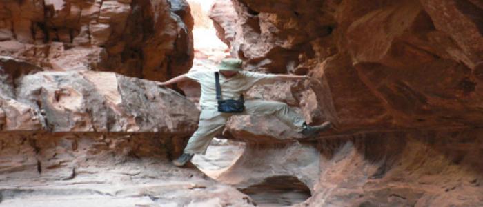 Adventure in Jordan.