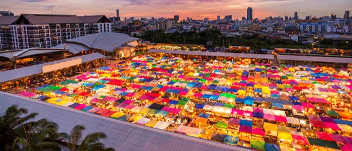 Bangkok Chatuchak Marke