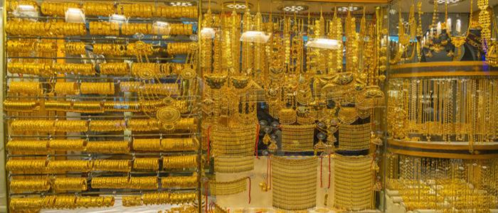 Gold souk market