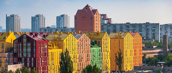 Kiev beautiful weather