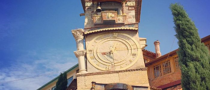 things to do in Georgia country - Leaning Clock Tower visit