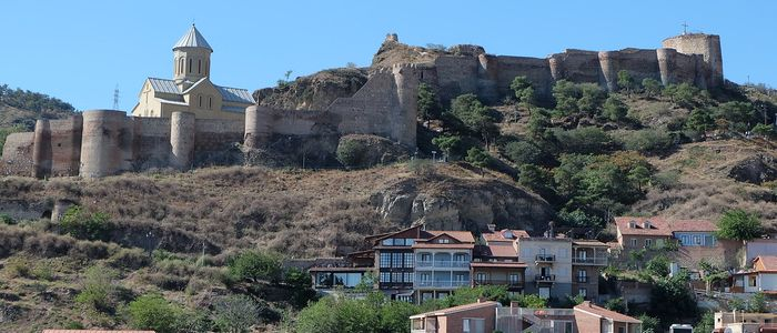 things to do in Georgia country - ride to the Narikala Fortress