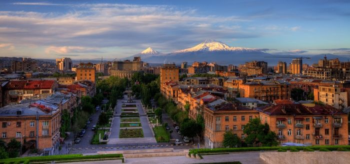 things to do in Armenia - Yerevan cascade