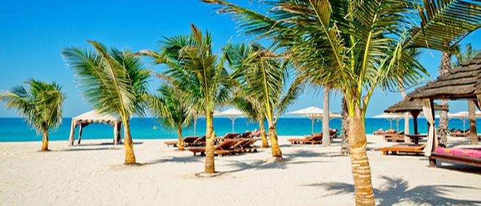 beautiful dubai beach