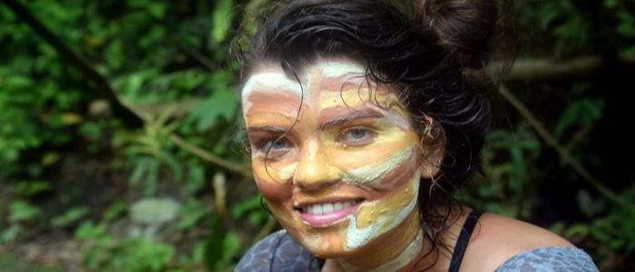 face painting bukit lawang