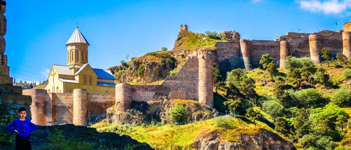 Things To Do For Kids And Toddlers In Georgia - narikala fortress