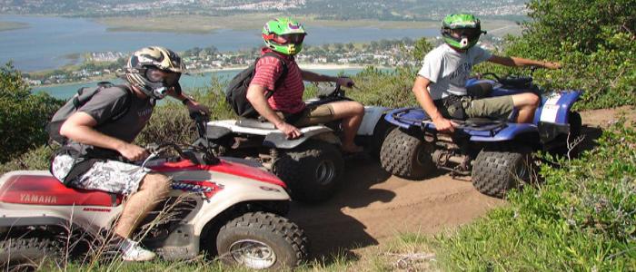 quad-biking