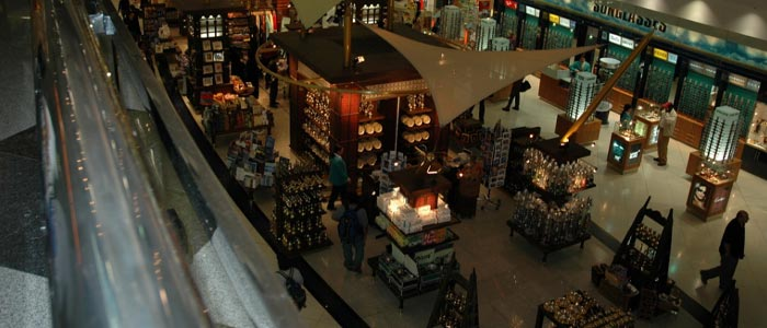 dubai airport things to do while in transit - Shopping