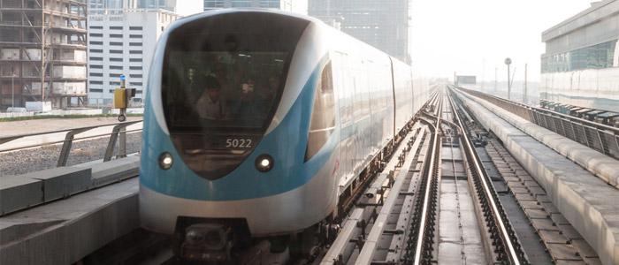 dubai airport things to do while in transit - Dubai Metro.