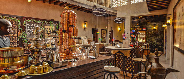 hidden places to visit in Dubai on budget - the Coffee Museum