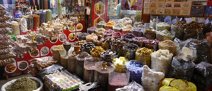 places to visit in Dubai on budget - Spice Souks