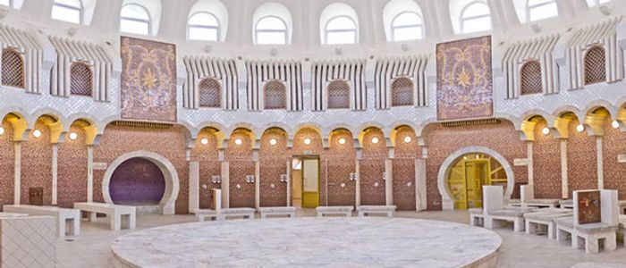 Almaty things to do - Arasan Baths