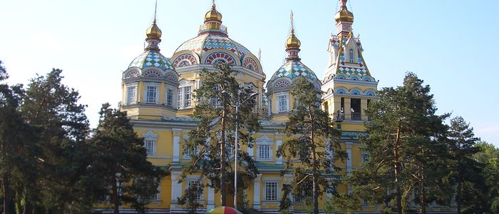 Almaty things to do - Ascension Cathedral