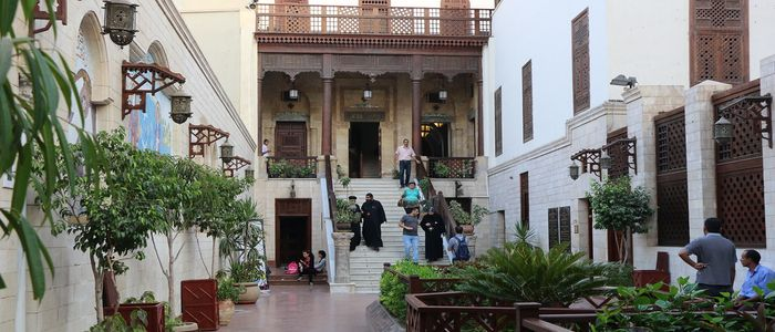 Exploring religious influences in old Egypt in the Coptic Area
