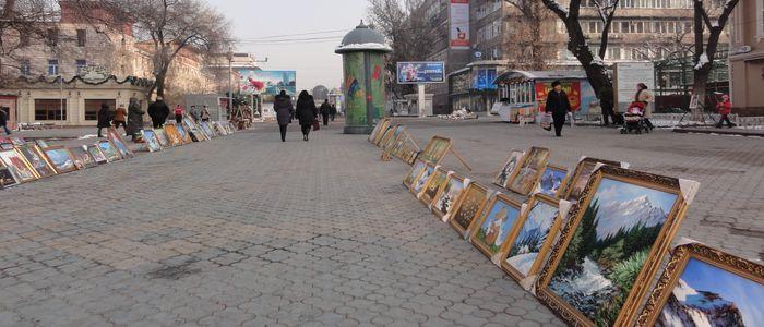 Almaty things to do - Pedestrian street walk
