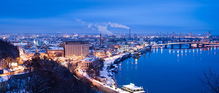 banks of the dnieper river