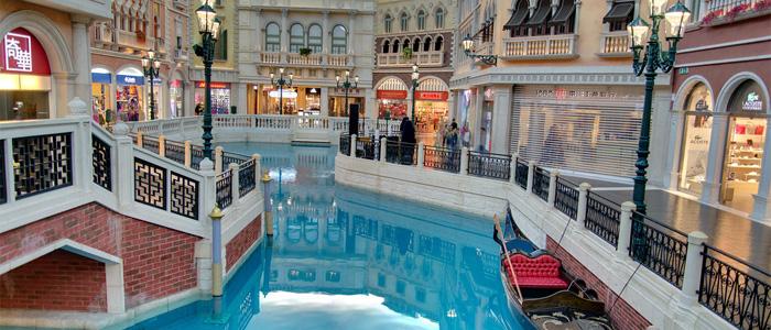 venetian shopping mall