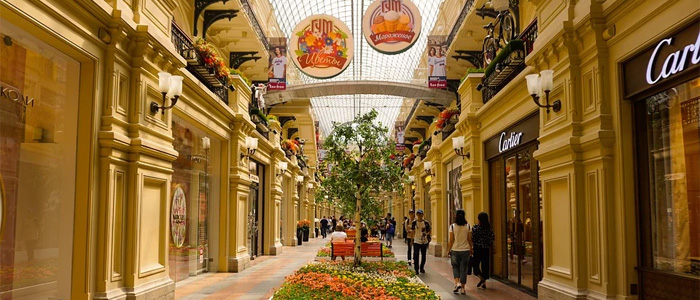 GUM mall moscow