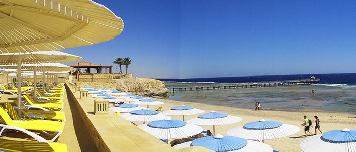 things to do in Egypt- sharm el luli beach