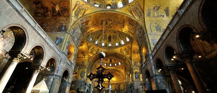 Go on Italy Tour Without Leaving Home-Italy Virtual Tour - St. Mark's Basilica