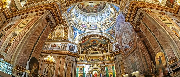 things to do in St Petersburg - St. Issaac Cathedral visit