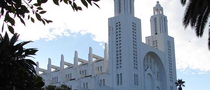 things to do in Casablanca - Cathédrale Sacré Coeur