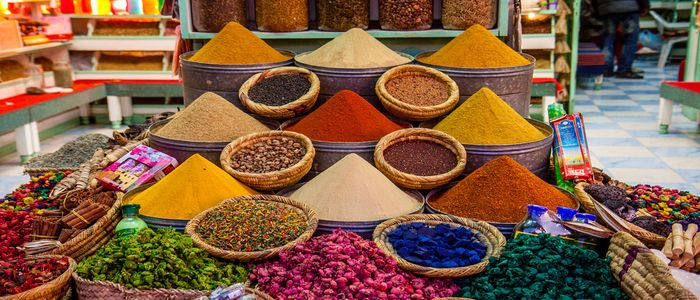 Morocco Shopping Guide: Spice Souks