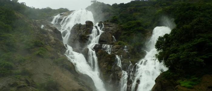 Things to do in India - Dudhsagar falls