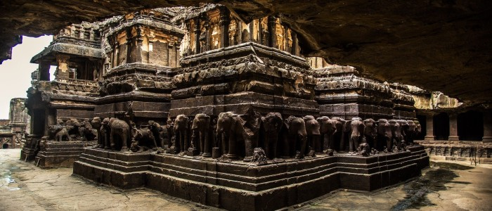 Things to do in India - Ellora Caves Kailash Temple