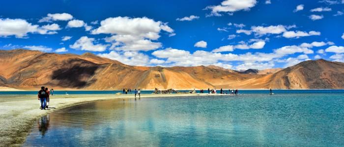 Things to do in India  - Pangong Lake