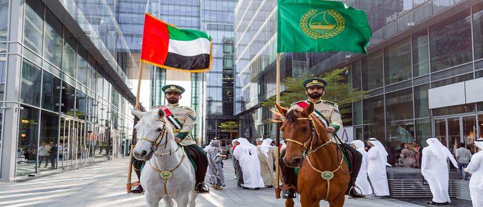 Celebrate National Day In Dubai - parade