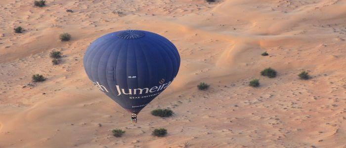 Mind-Blowing & Some Hidden Hangouts In Dubai - Hot Air Balloon Ride