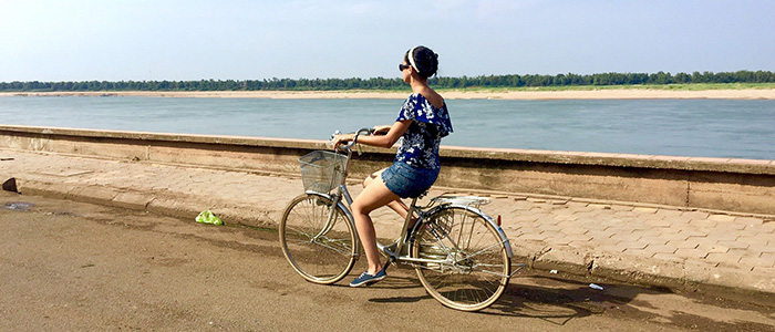 Cambodia cycle tour
