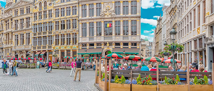 things to do in Brussels - Grand place
