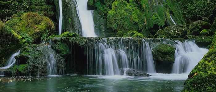 Jura waterfalls