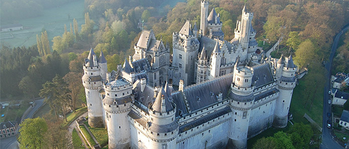 things to do in France - Pierrefonds Castle