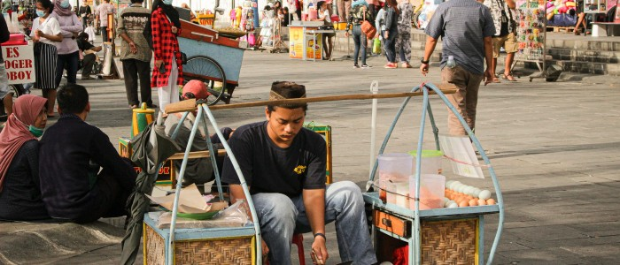 things to do in Indonesia - Jakarta market