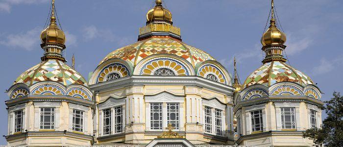 Main Activities In Kazakhstan - Architecture of Zenkov Cathedral