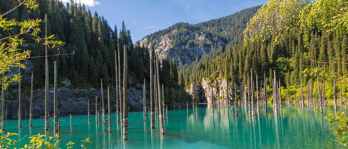 Things To Do In Kazakhstan - Kaindy Lake
