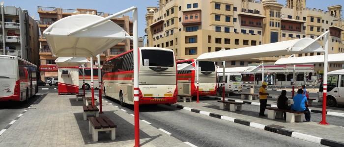 Travel From Dubai To Abu Dhabi via Public buses