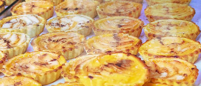 Egg tart Portuguese dish