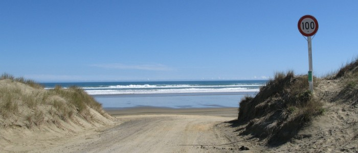 Things To Do In New Zealand - Ninety miles beach