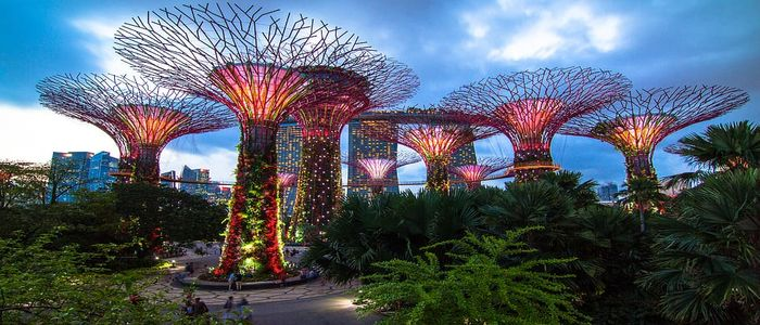 Where to travel in April - Singapore
